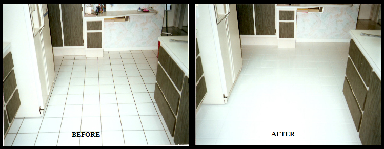 Kitchen Grout Sealing