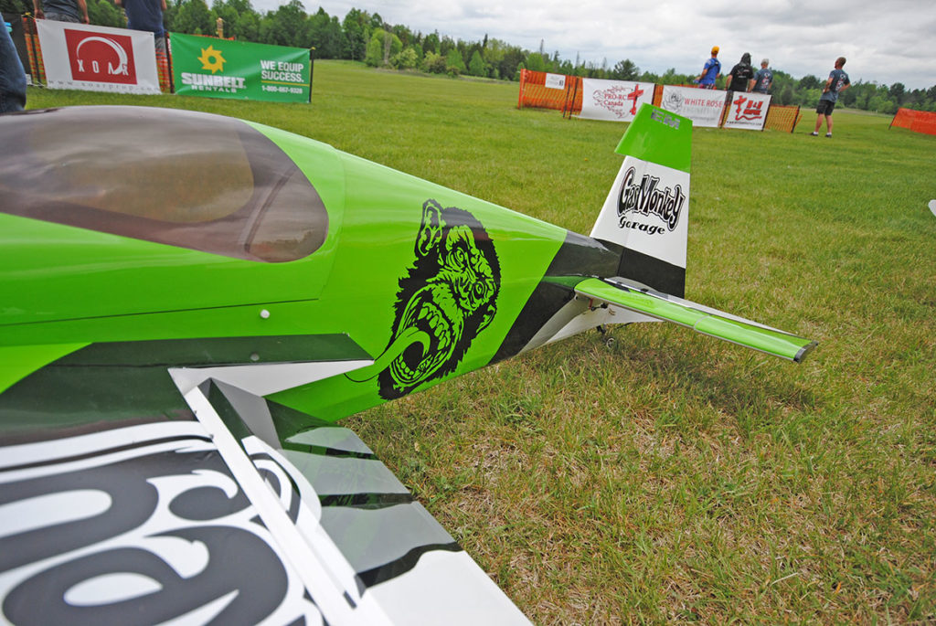 Gas monkey Pilot RC Edge at HITV 2018