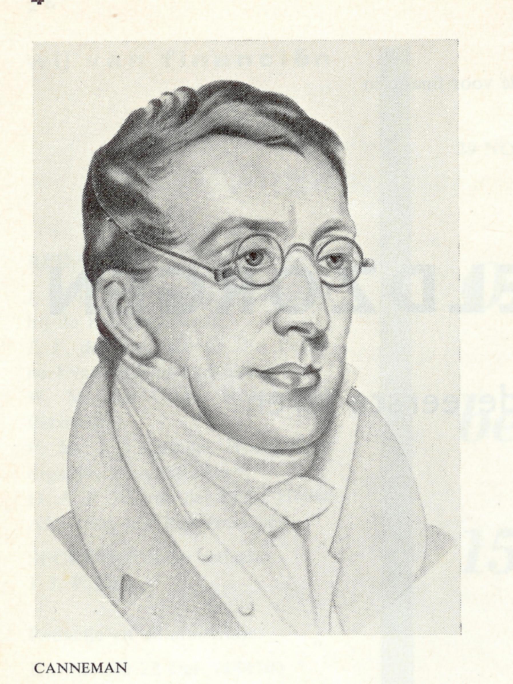 Elias Canneman, op jeugdige leeftijd