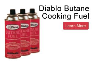Diablo Butane Cooking Fuel