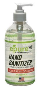 ePure70 16oz Hand Sanitizer