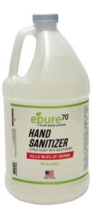 ePure70 Gallon Hand Sanitizer