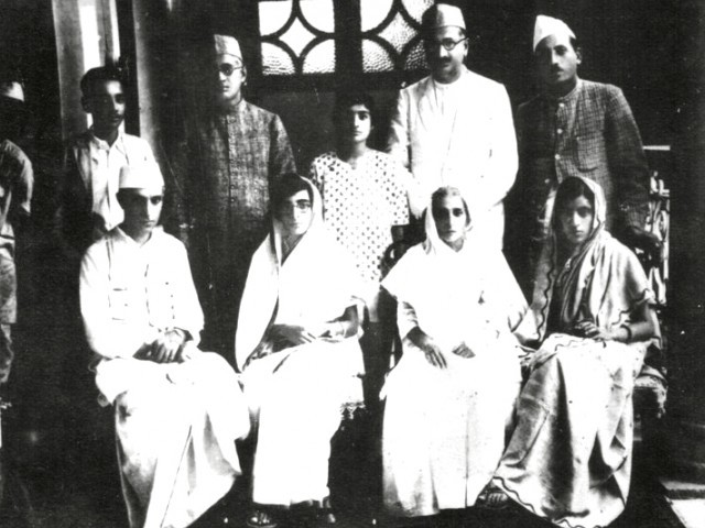 This photograph was taken when future prime minister of India Jawaharlal Nehru, and his wife, visited Mukhi House. It is dated 1931. PHOTO COURTESY: SURESH K. BHAVNANI