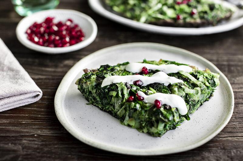 Kuku Sabzi: Persian-style Herb Frittata.