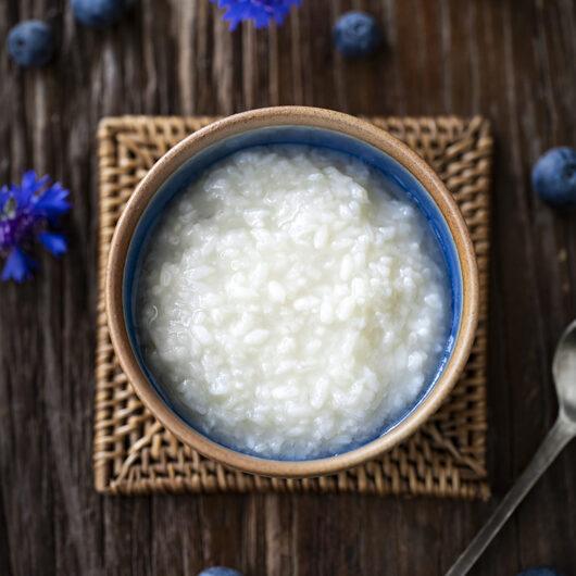 Amazake. Fermented Japanese Rice Drink.