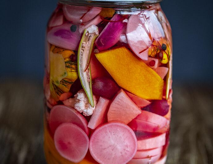 Amazuzuke. Quick Vinegar Japanese-style Pickles