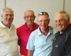 Ambrose 4's Winners (L-R): Alf Grundel, Rob Ashton, Neil Fletcher & John Whyte