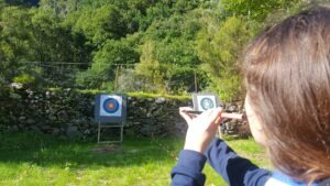 Archery, crossbow, blowpipe shooting
