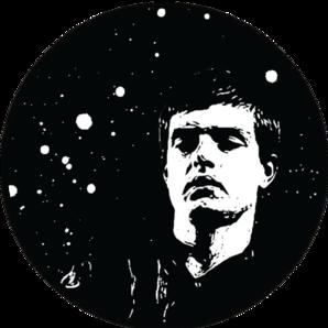 Joy Division - Ian Curtis Sticker