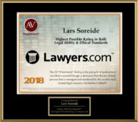 Highest Ethical Standards Securities Lawyer Award 2018