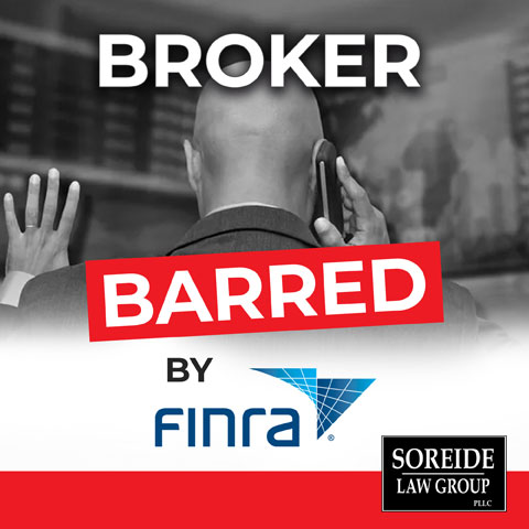 Stock Broker Barred By FINRA