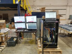 Cattle Feed Control System Test Setup