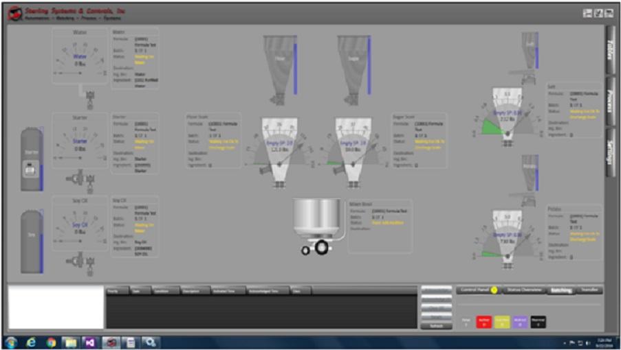 Batching Automation Application
