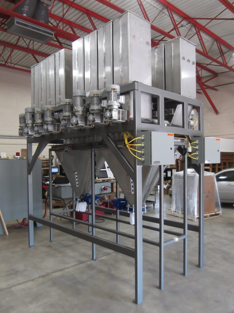 Micro Ingredient Material Weighing System
