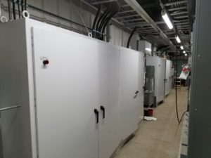 ELECTRICAL CONTROLS FOR CLASSIFYING