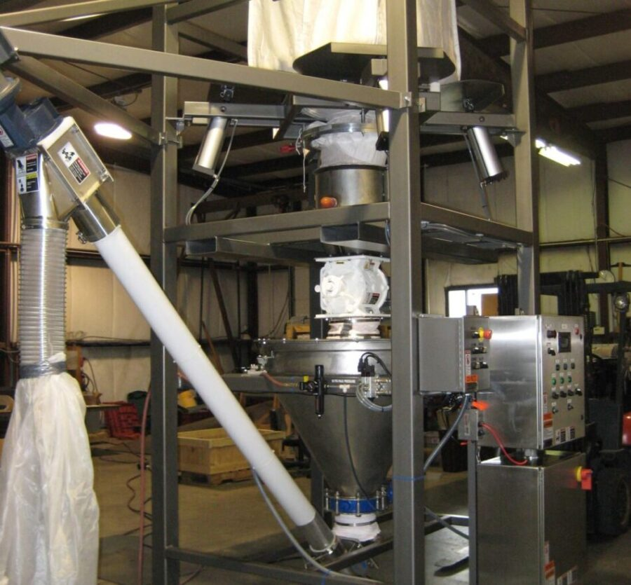 Bulk Bag Unloading and Weighing Systems