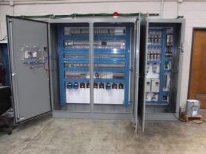 ELECTRICAL PANEL INSIDE
