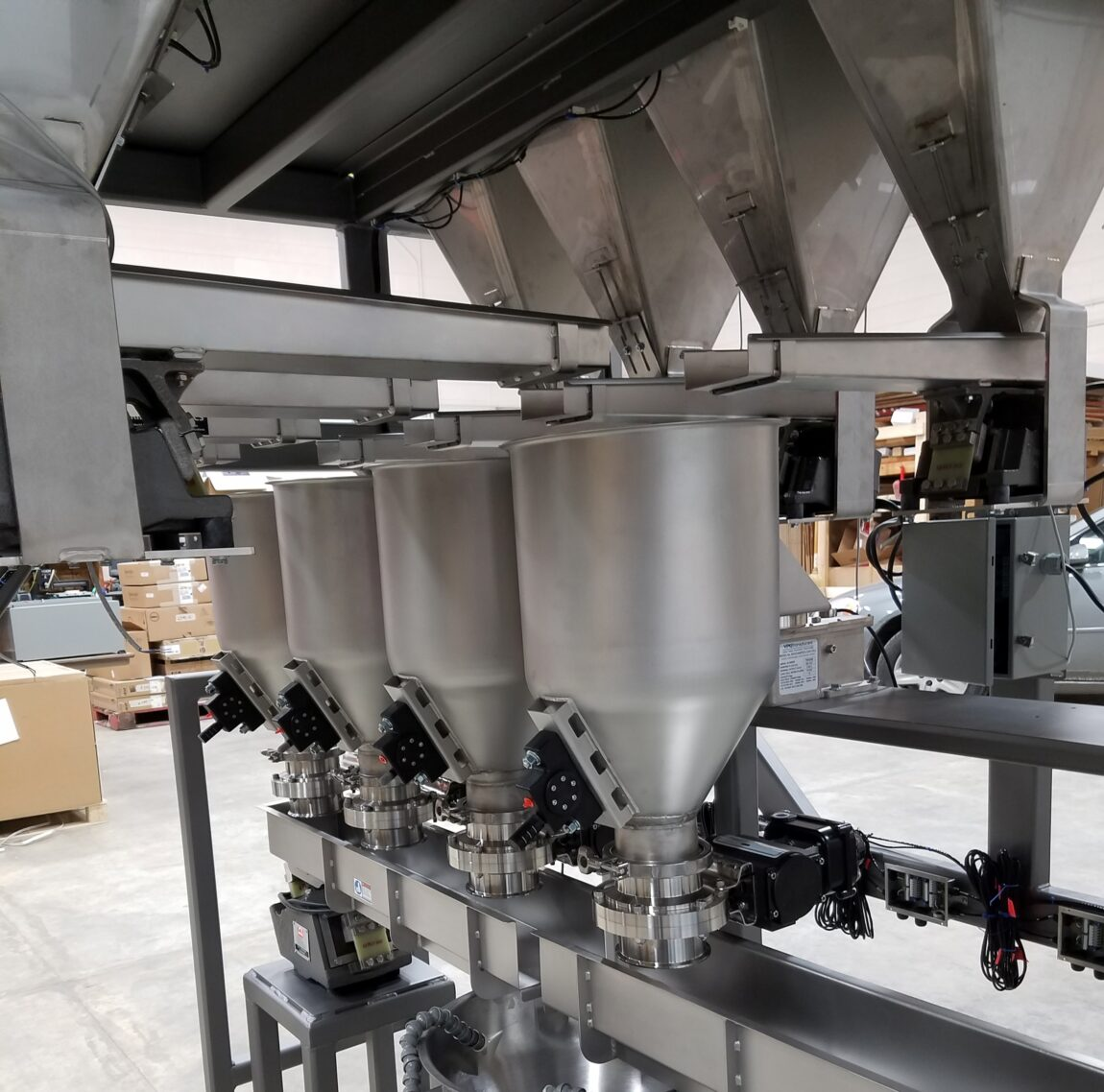 VIBRATORY FEEDERS IN MICRO INGREDIENT SYSTEM