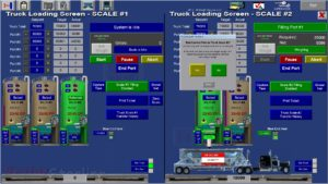 FRAC SAND HANDLING SYSTEMS TRUCK FILLING SYSTEM SCREEN
