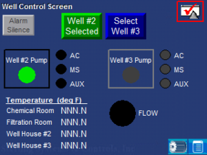 well monitoring control