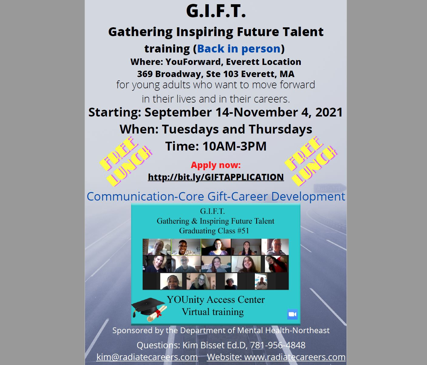 G.I.F.T. (Gathering & Inspiring Future Talent) Training: IN-PERSON at YouForward in Everett - Starting Sept.14, 2021