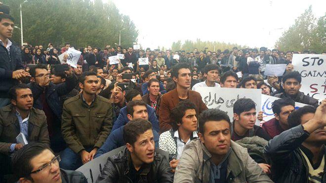 Tabriz-Protest