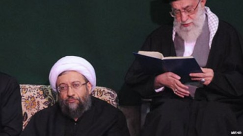 khamenei-larijani