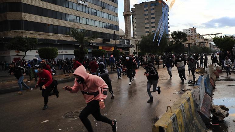 Lebonan-uprising