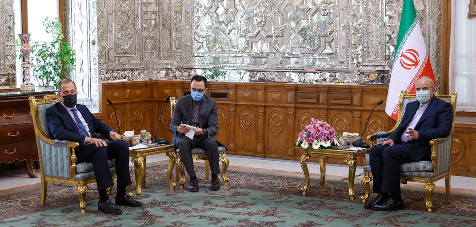 Lavrov-Zarif meeting Tehran 13Apr 2021