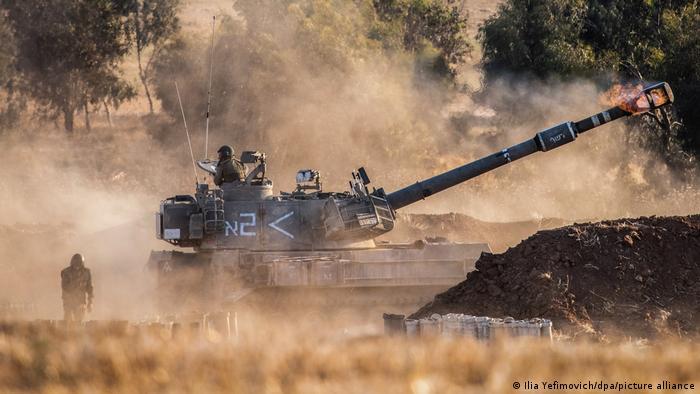Israel-Ghaza-Tank