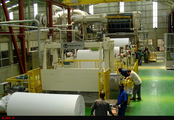 کارخانه+کاغذ