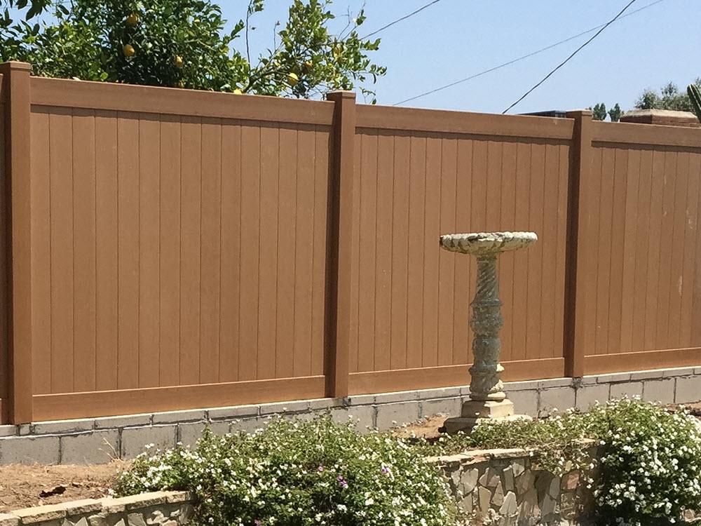 Ed's Landscape Fence Panel Project