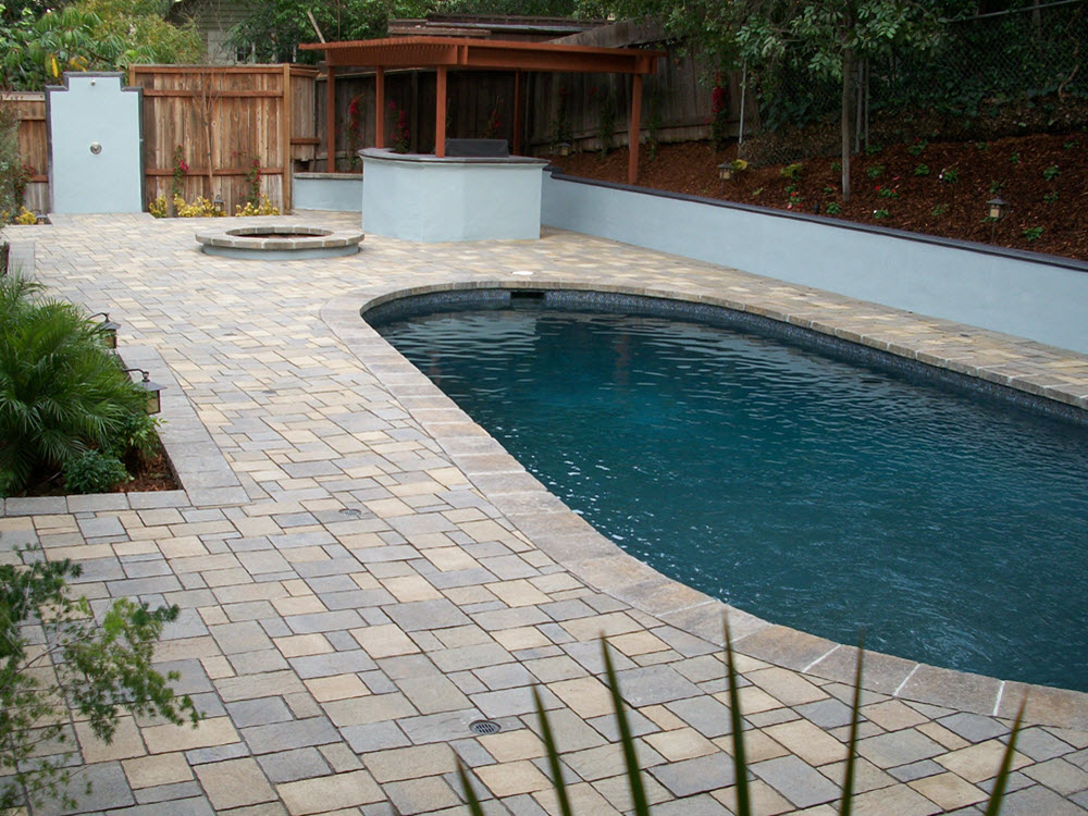 Ed's Landscaping Paver Pool Deck Project