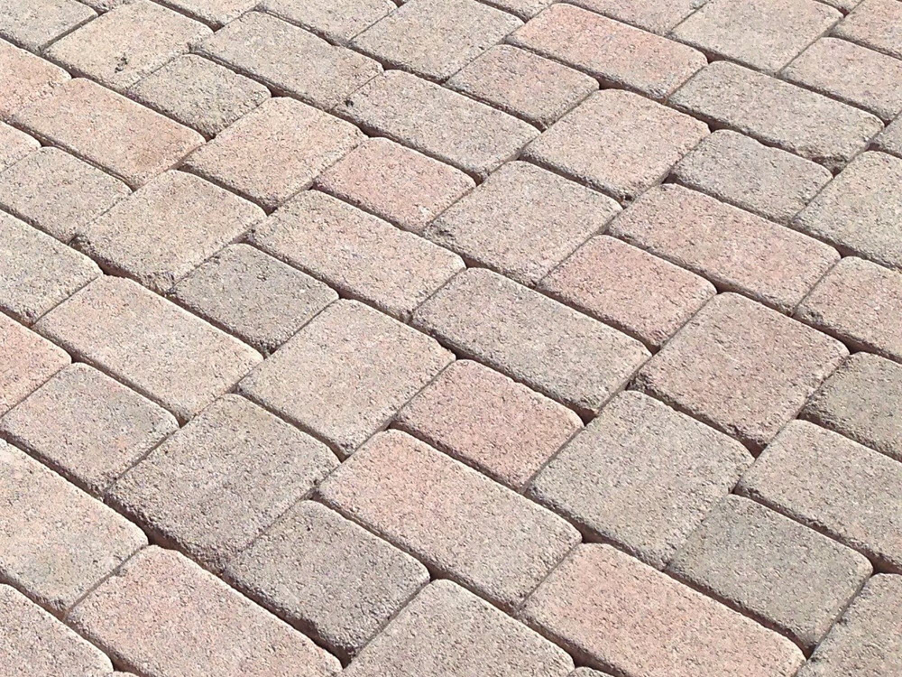Ed's Landscaping Pink Pavers
