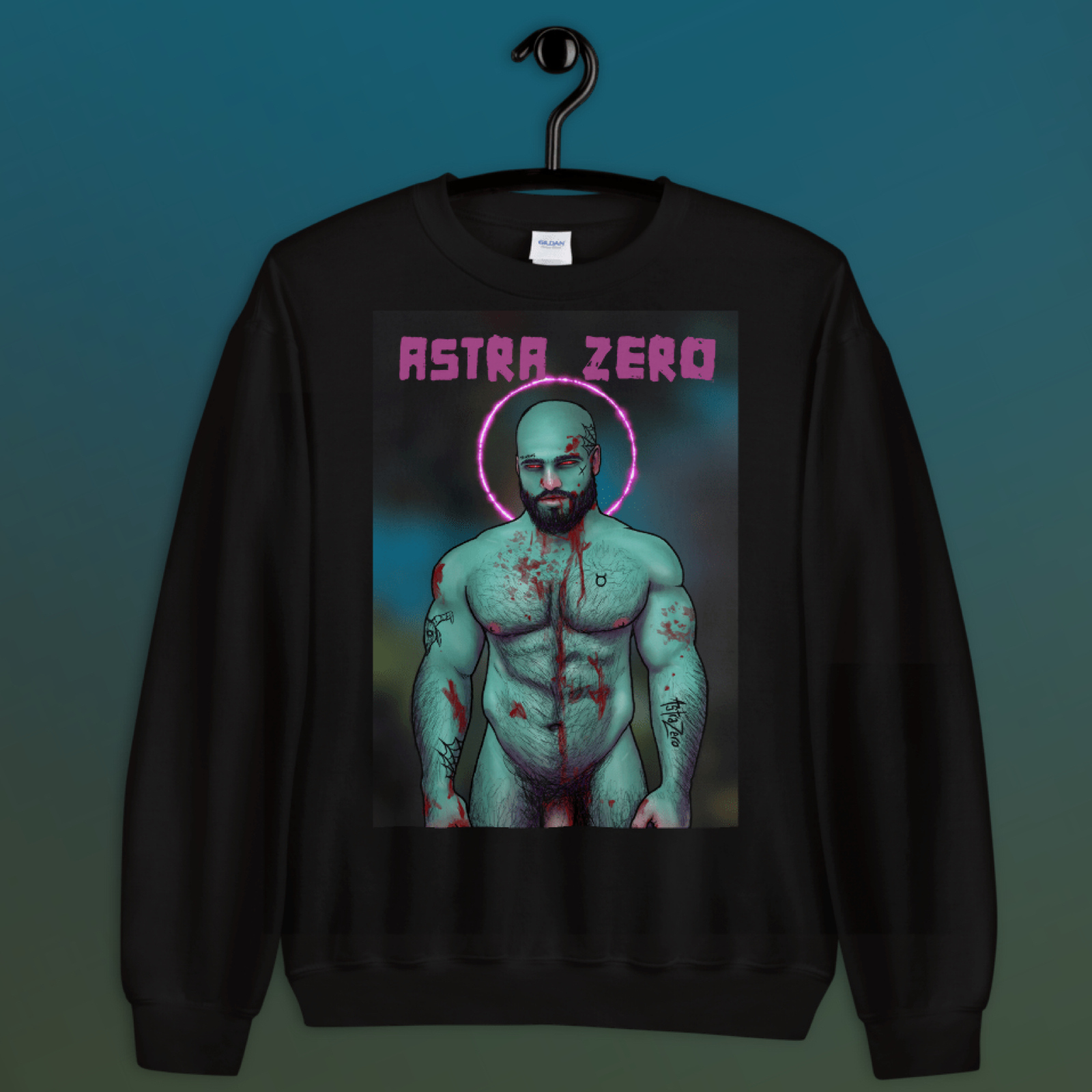 """Featured image for """"Zombie Daddy - Unisex Sweatshirt"""""""