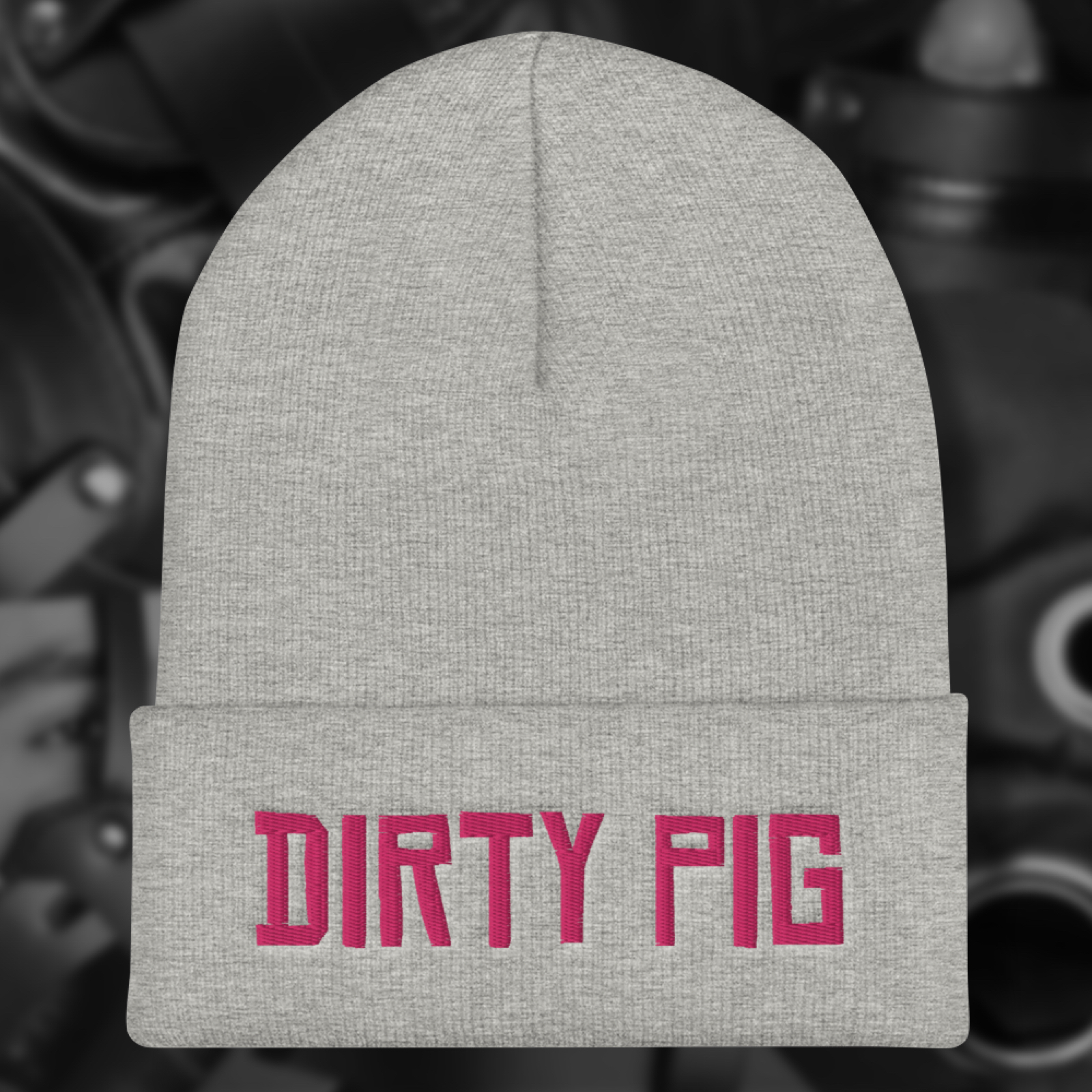 """Featured image for """"Dirty Pig - Cuffed Beanie"""""""