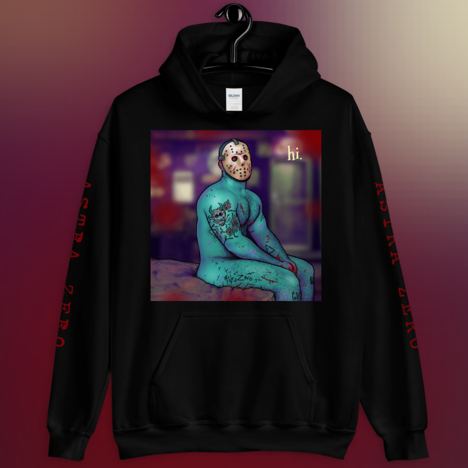 """Featured image for """"Shy Friday the 13th - Unisex Hoodie"""""""