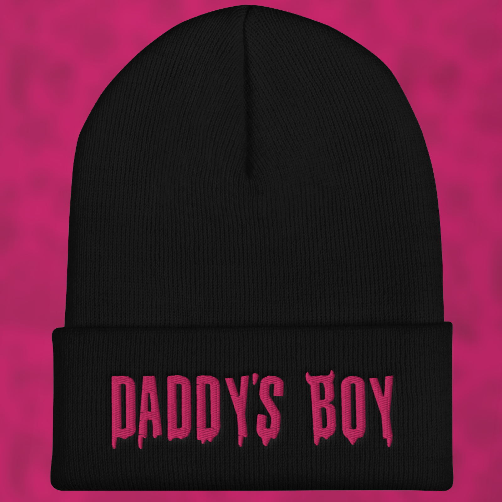 """Featured image for """"Daddy's Boy - Cuffed Beanie"""""""