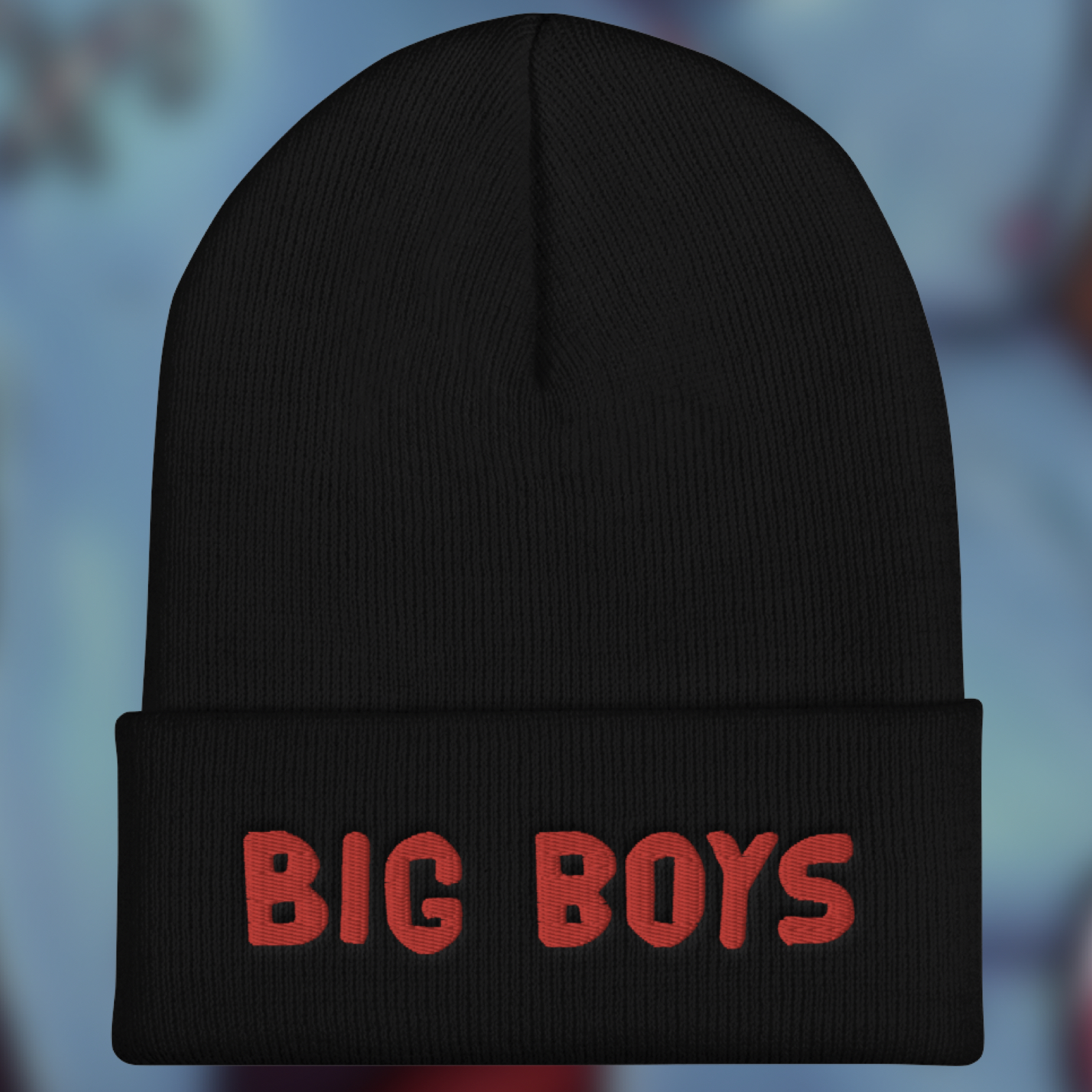 """Featured image for """"Big Boys - Cuffed Beanie"""""""