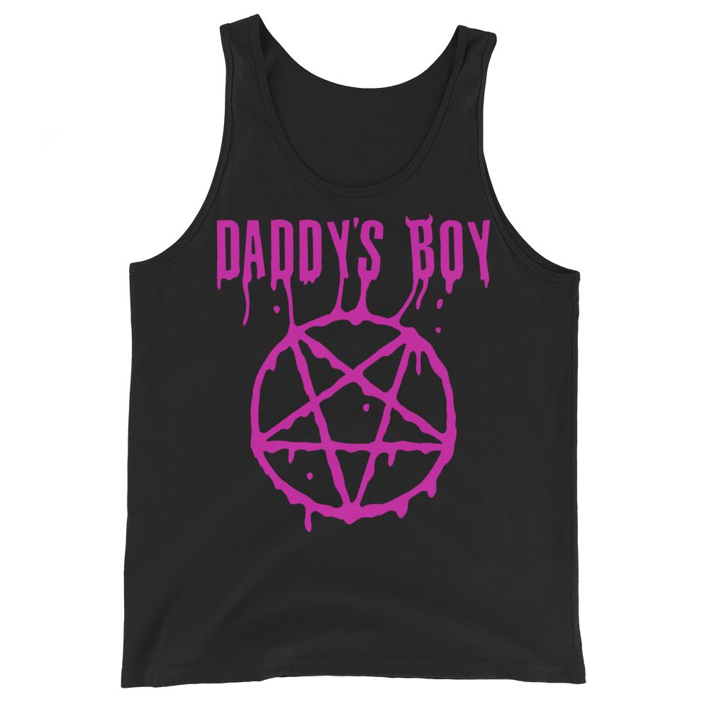 """Featured image for """"Daddy's Boy - Unisex Tank Top"""""""