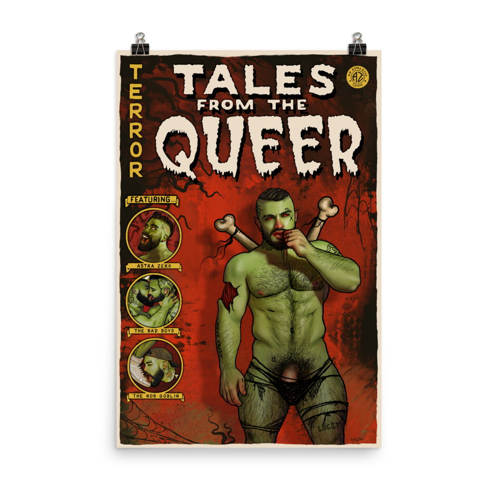 """Featured image for """"Tales from the Queer - Photo paper poster"""""""