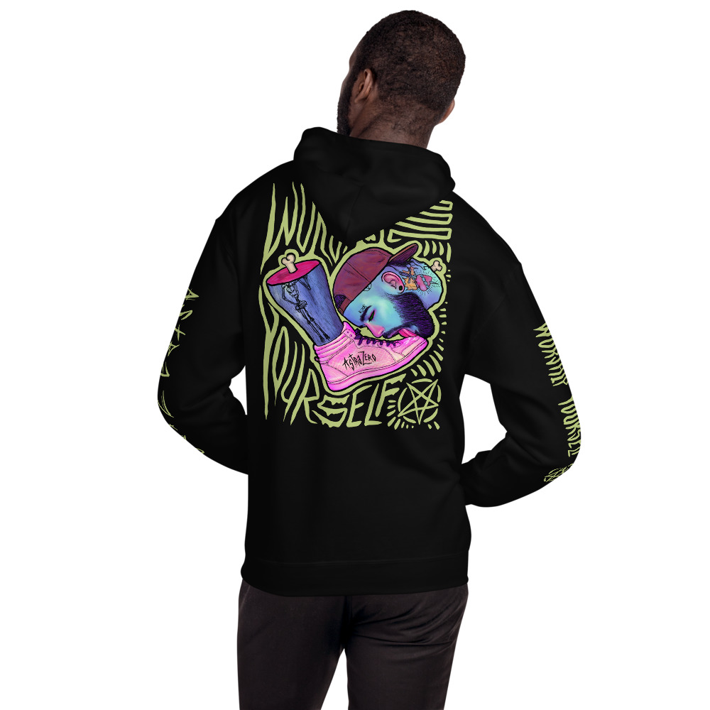 """Featured image for """"Worship Yourself - Unisex Hoodie"""""""