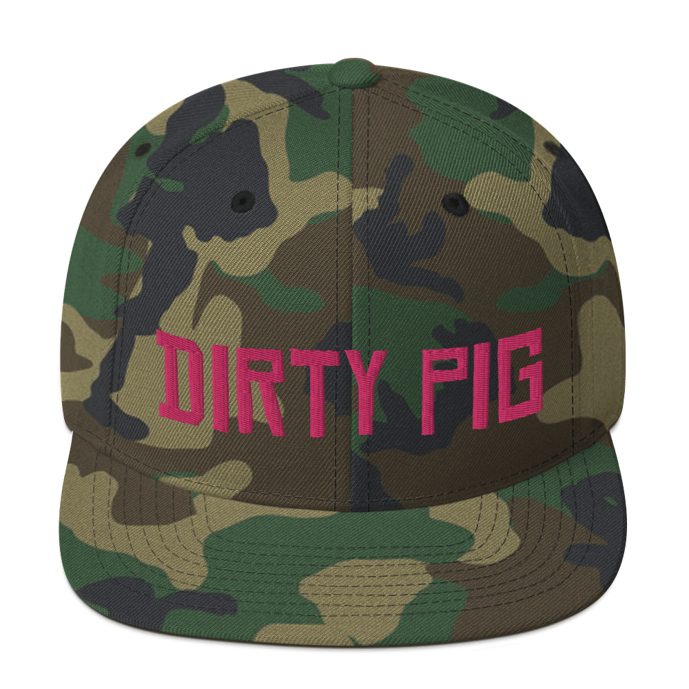 """Featured image for """"Dirty Pig - Snapback Hat"""""""