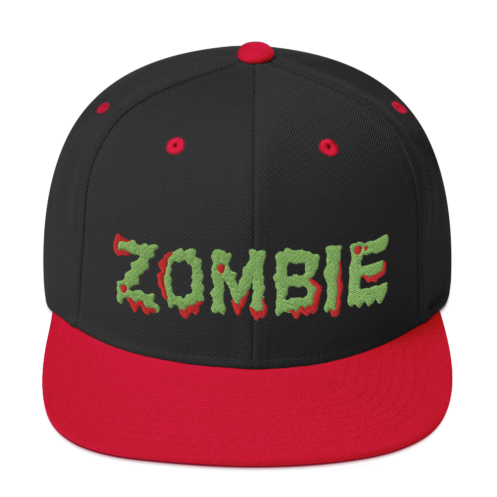 """Featured image for """"Zombie - Snapback Hat"""""""
