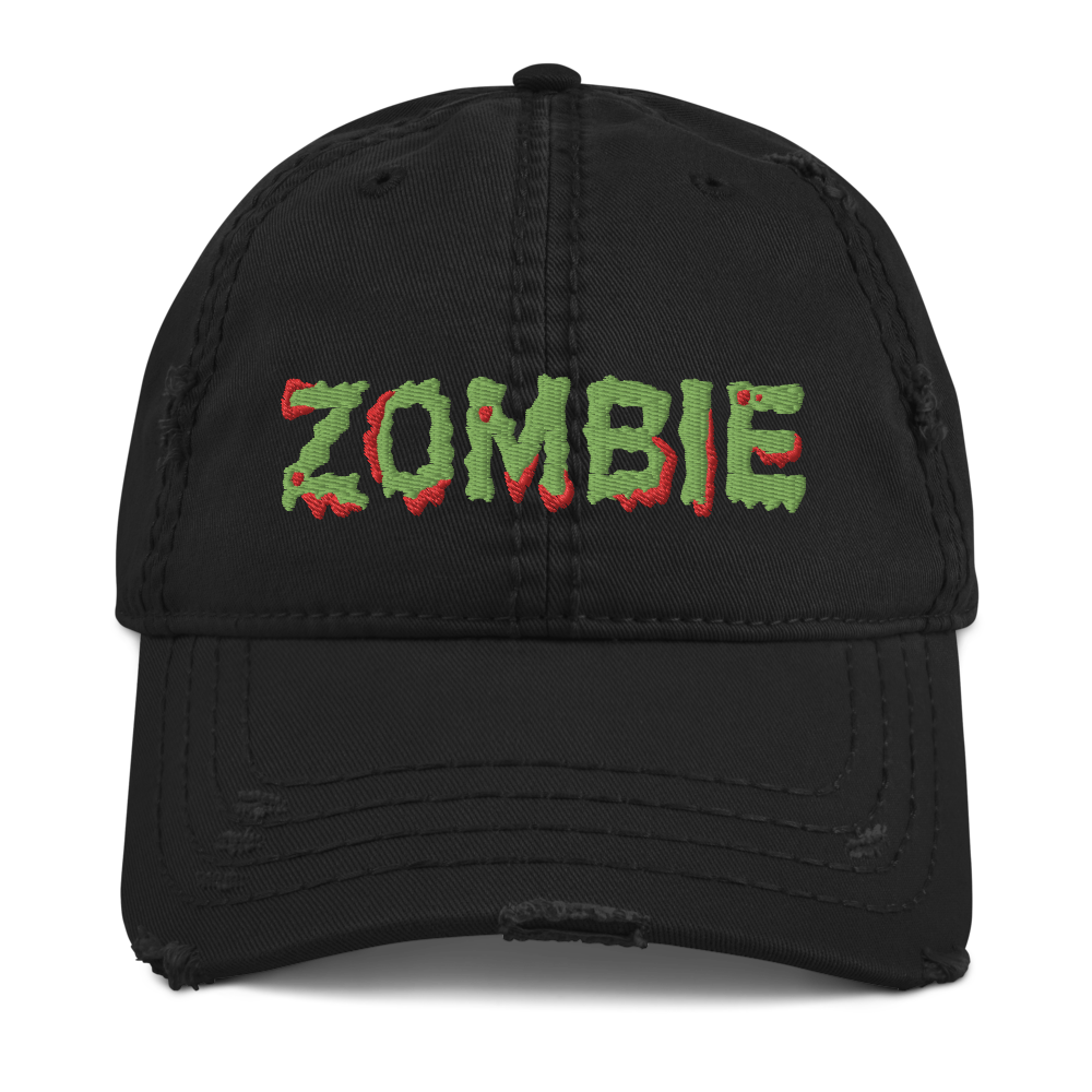 """Featured image for """"Zombie - Distressed Dad Hat"""""""