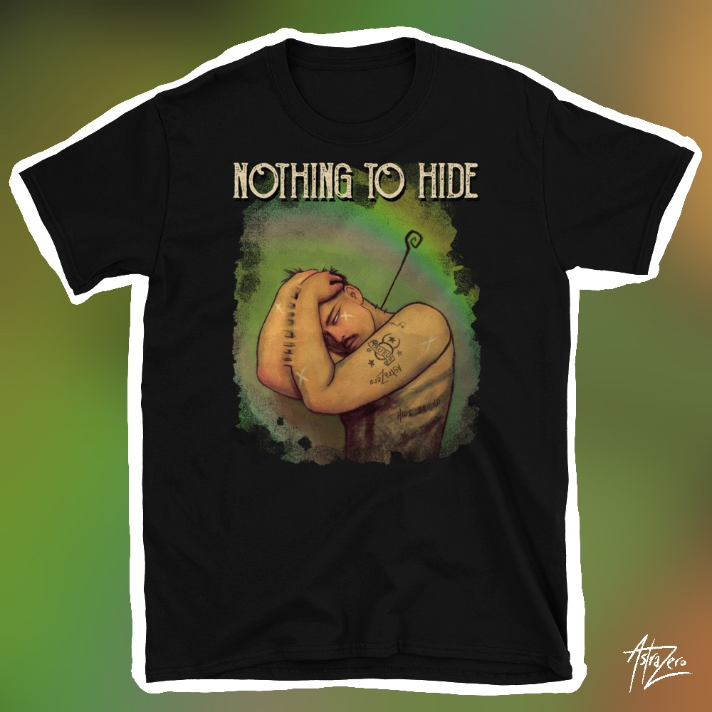 """Featured image for """"Nothing to Hide - Short-Sleeve Unisex T-Shirt"""""""