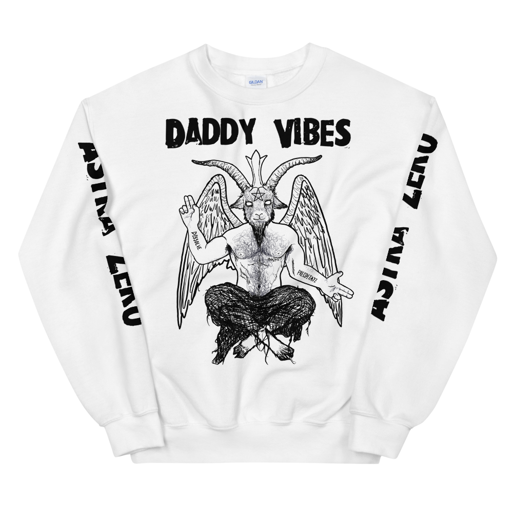 """Featured image for """"Daddy Vibes ( Baphomet ) Unisex Sweatshirt"""""""