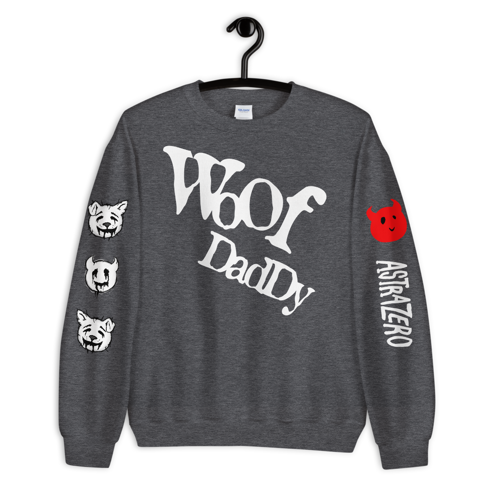 """Featured image for """"Woof Daddy Furry - Unisex Sweatshirt"""""""