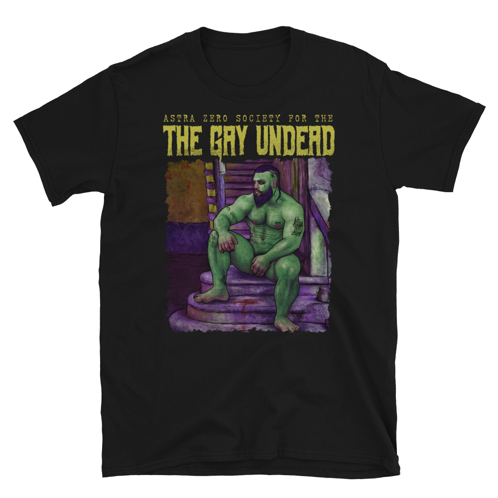 """Featured image for """"The Gay Undead - Short-Sleeve Unisex T-Shirt"""""""