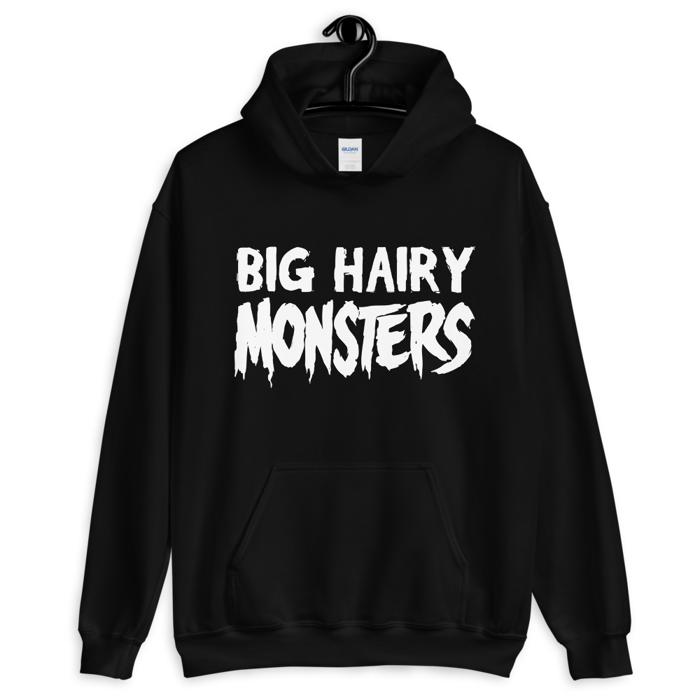 """Featured image for """"Big Hairy Monsters - Unisex Hoodie"""""""